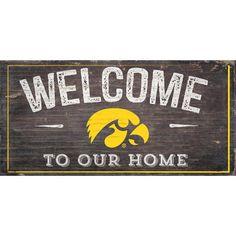 Iowa Hawkeyes Decorative House Flag | Iowa hawkeyes, Products and Iowa