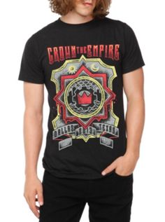 Crown The Empire Texas Slim-Fit T-Shirt .... I have this :D