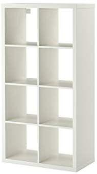 Ikea Regal Kallax Das Neue Expedit Regal 8 Fach Weiß 147 X