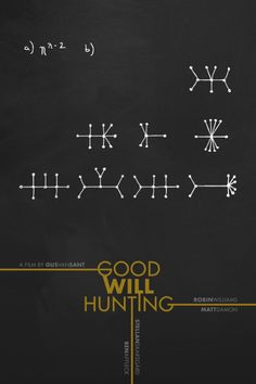 Good Will Hunting (1997) ~ Minimal Movie Poster by Foursquare #amusementphile
