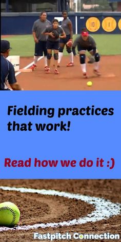 See how we run fielding practices to maximize time and get tons of reps.