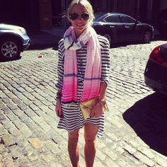 @palomableu rocking her #lemlem pre-fall scarf in soho
