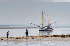 Wilhelmshaven: Fischkutter Hein Godewind (VAR-6) am Südstrand