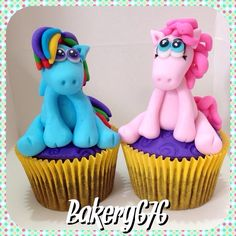 My little pony cake topper / cupcakes Bakery 676