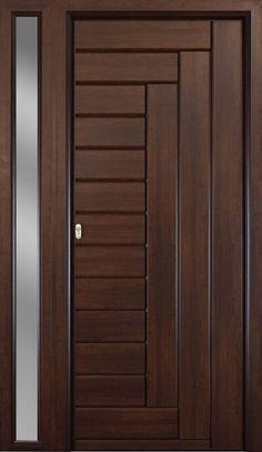 Less of main door House Main Door Design, Flush Door Design, Single Door Design, Main Entrance Door Design, Wooden Front Door Design, Double Door Design, Bedroom Door Design, Door Design Interior, Modern Entrance Door