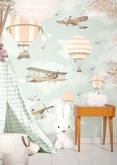 (^o^) Kiddo (^o^) Design - little hands wallpaper mural