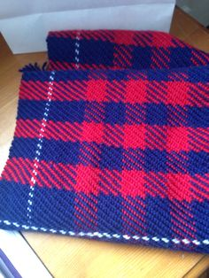 Another scarf hand woven on my rigid heddle loom.