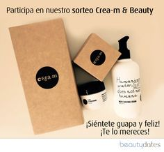 Sorteo de productos Crea-m con Beautydates