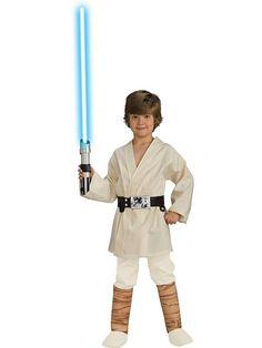 Star Wars Luke Skywalker Child Costume | Boys Star Wars Costumes