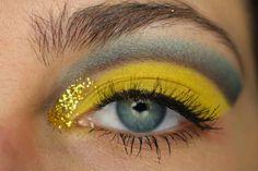 Sailor Uranus inspired makeup by https://www.make-up-blog.de/blogparaden/sailor-uranus-blogparade-1847.html