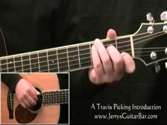 Travis Picking a Beginner's Fingerpicking Guitar Lesson