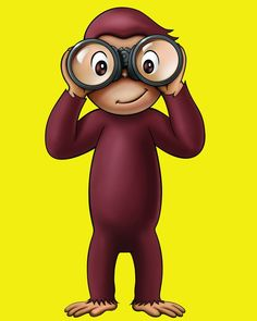 Curious George 8 x 10 Glossy Photo Picture Curious George Party, Curious George Birthday, Cartoon Art, Cartoon Characters, George Kids, Paris Pictures, Princesas Disney, 2nd Birthday, Disneyland