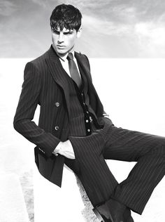 #Atribute to the Jacket: A Fall/Winter 2007 campaign featuring Evandro Soldati by Mert & Marcus. Find out more on Armani.com/Atribute