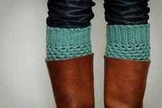 Mint Boot socks w brown boots