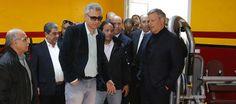 Hamdi Meddeb inaugure une nouvelle salle de musculation au parc B