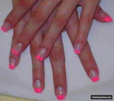 neon acrylic 1 nail design - Fashion for Women