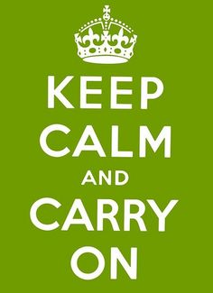 lime green keep calm original
