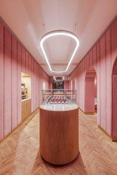 Drei Farben Rosa: Patisserie in Breslau