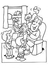 dibujos para colorear de dia del padre