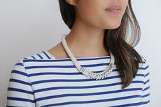 Diy Statement Rope Necklace
