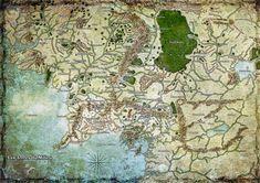 Fan map des Terres du Milieu