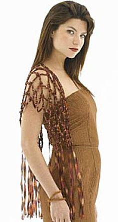 Free Crochet Pattern: Crochet Open Weave Shawl