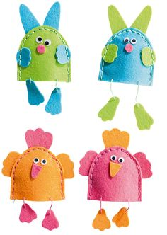 Felt Crafts Diy, Crafts For Kids, Textiles, Craft Kits, Handmade Toys, Cross Stitch Patterns, Sewing Projects, Easter, Kids Rugs