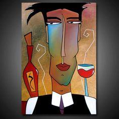 Art: Serve It Up by Artist Thomas C. Fedro