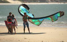 Kitesurfing @ Cumbuco, Brazil
