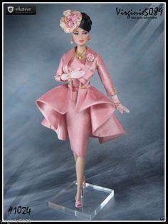 Tenue Outfit Accessoires Pour Fashion Royalty Barbie Vintage 1024 | eBay