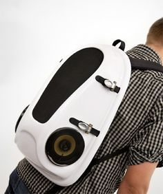 fabric speaker backpack - Google Search