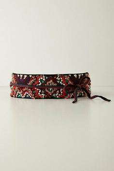 Tobe Embroidered Belt #anthropologie