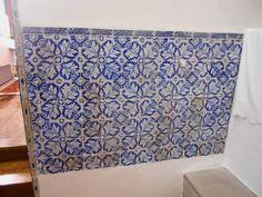 Mosaico talaverano  de la sacristía.