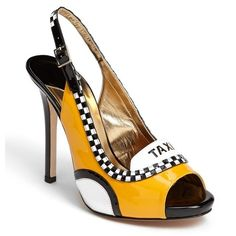 """kate spade new york 'le taxi' pump ($550) These remind me of """"Test Drive"""" from the movie The Last Dragon!!!"""