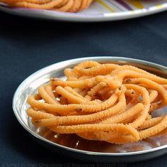 Potato Murukku / Aloo Murukulu Recipe   Diwali Snacks Recipes   Blend with Spices