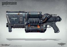 Concept art from Wolfenstein: The New Order - Laserkraftwerk, axel torvenius on ArtStation at https://www.artstation.com/artwork/concept-art-from-wolfenstein-the-new-order-laserkraftwerk