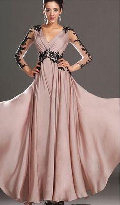 7e4ac728beea4f Goedkope Plus size xl hoge taille sexy diepe v hals lange maxi jurk  avondfeest volledige jurk