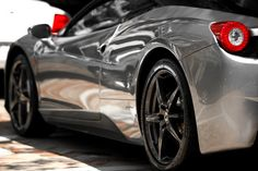 Ferrari metallic paint