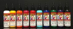 Unicorn SPiT Stain Full Set of the original 10 colors in bottles. Water based and non toxic with pleasant jasmine scent. Ideal paint/stain for all ages. Furniture Projects, Furniture Makeover, Diy Furniture, Rehabbed Furniture, Furniture Refinishing, Furniture Repair, Refurbished Furniture, Wood Projects, Furniture Design