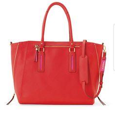 Stella & Dot Madison Tech Convertible Bag Poppy