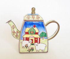 Trade Plus Aid Sheep miniature teapot
