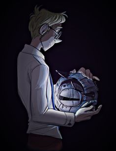 """faragonart: """" Getting into catching up on a very popular fanfic…… """" Wow! This is awesome :D Blue Sky Portal, Portal 2 Wheatley, Portal Art, Aperture Science, You Monster, Best Games, Video Games, Fandoms, Combustible Lemons"""