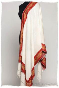 French Masquerade Shawl Collection — Seasons by The Kashmir Company Kashmiri Suits, Kashmiri Shawls, Cashmere Shawl, International Fashion, Ivoire, Indian Wear, Fashion Details, Masquerade, Kimono Top
