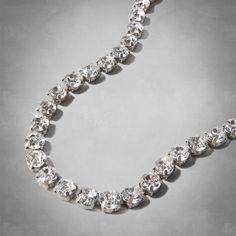 Womens Jeweled Shine Necklace | Womens New Arrivals | Abercrombie.com