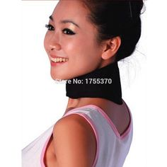 Tourmaline Far Infrared Ray Heat Strap Relief Pain Massager Neck Massager Brace Support Personal Care