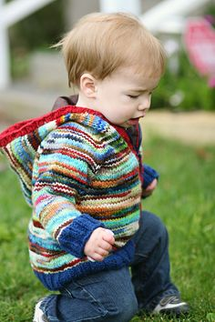 Toddler Raglan Hoodie Knitting Pattern