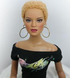 """** Kennedi ** 16"""" OOAK Tonner Tyler Jac Jon Doll custom Repaint by Yu"""