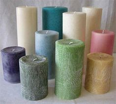 Pillar Candles by AthenasBathHouse on Etsy