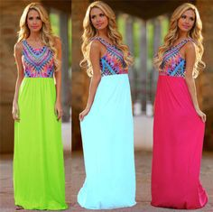 New-Women-Boho-Beach-Summer-Sundress-Long-Dresses-Maxi-Evening-Party-Dress-4-18