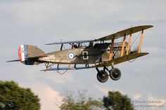 The Bristol F.2 Fighter was a British two-seat biplane fighter and reconnaissance aircraft